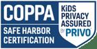 PRIVO COPPA Safe Harbor Seal